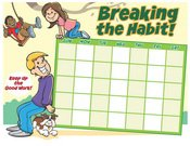 Kids Habit Chart color